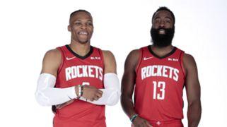 Russell Westbrook James Harden Houston Rockets