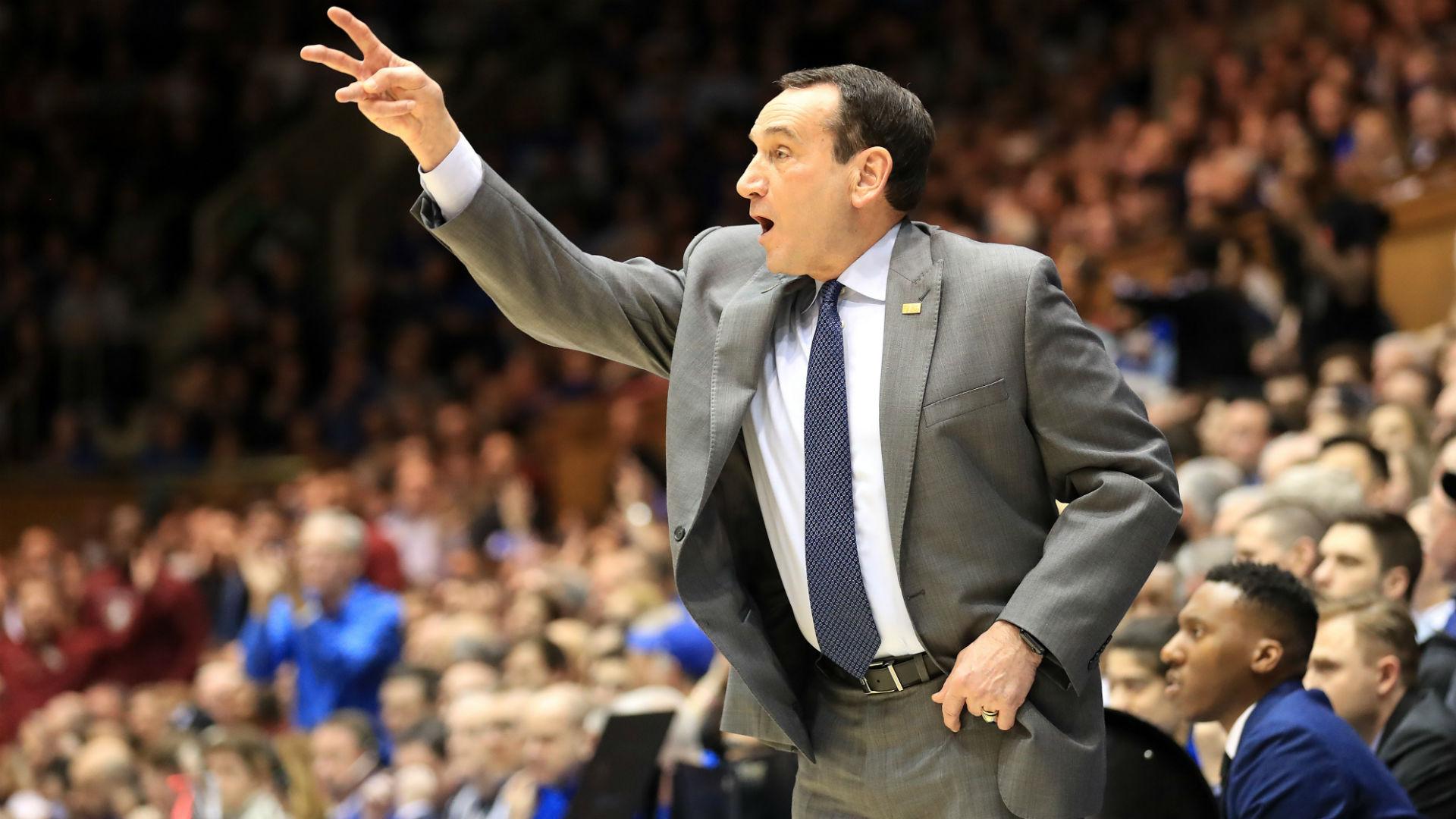 El entrenador K dice que la NCAA debería considerar darles a los adultos mayores de baloncesto universitario un año adicional de elegibilidad 1