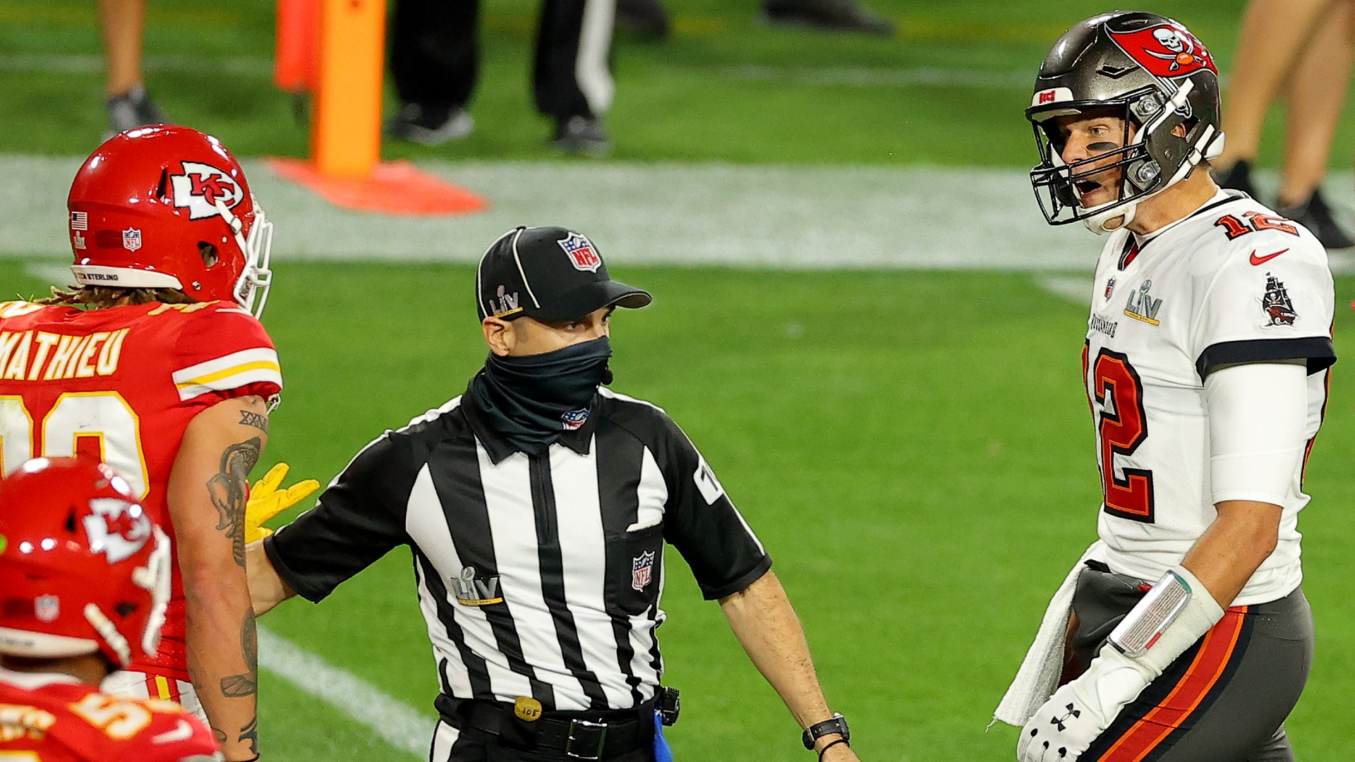 Michael Irvin says Super Bowl 55 audio shows Tom Brady didn't call Tyrann Mathieu racial slur