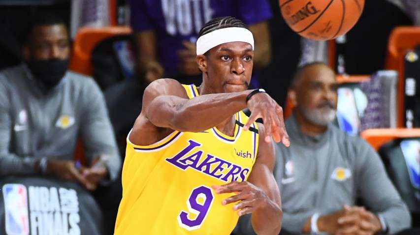 Rajon Rondo Los Angeles Lakers