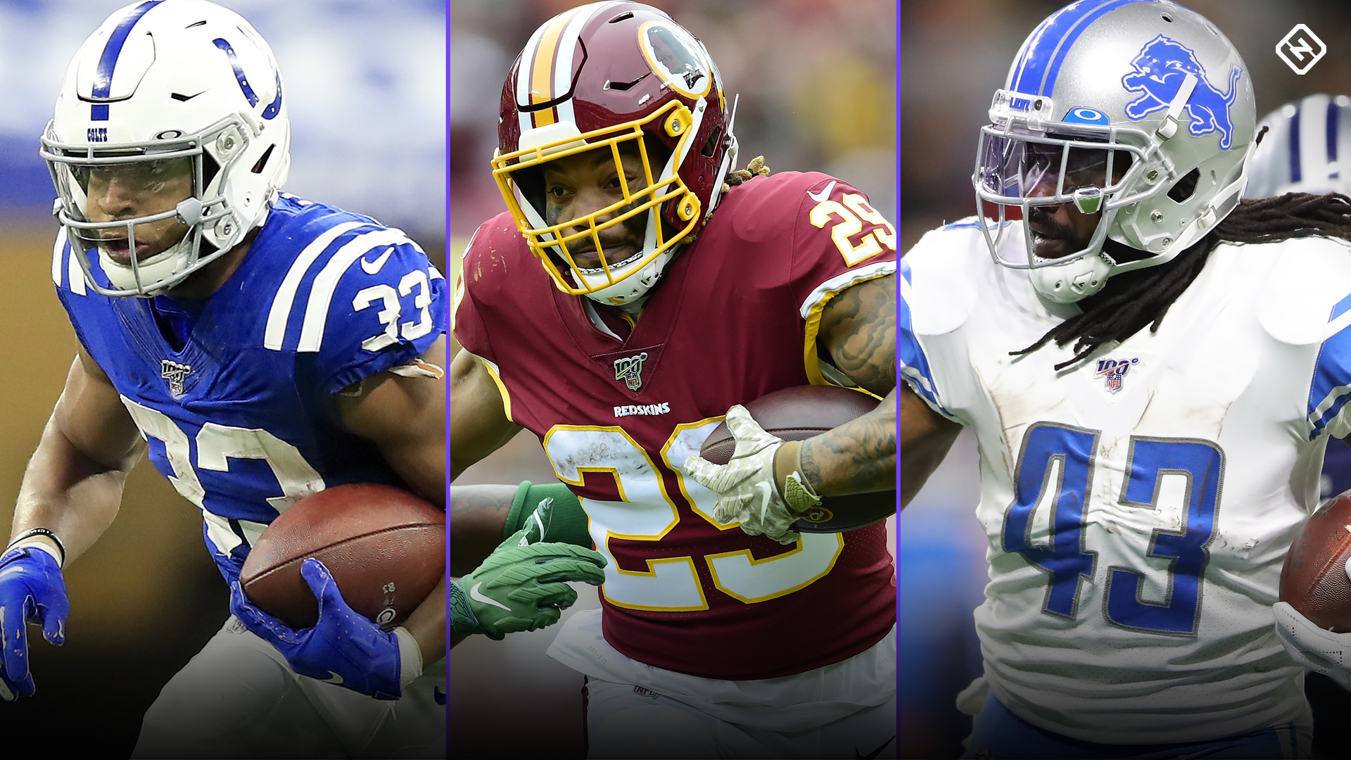 Best Fantasy Week 12 Waiver Pickups: 'Handcuffs' Jonathan Williams, Derrius Guice, Bo Scarbrough break out
