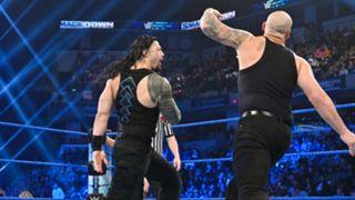 Roman Reigns + Baron Corbin - WWE TLC 2019