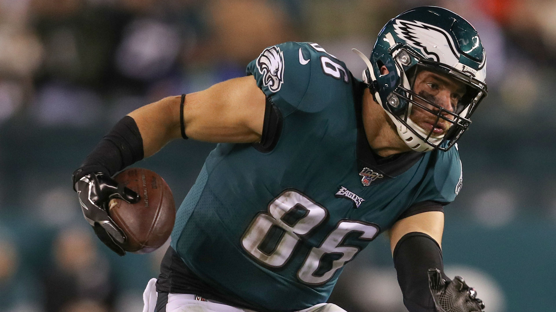 Is Zach Ertz playing on Monday night? Fantasy injury update for  Seahawks-Eagles (Updated) | Sporting News