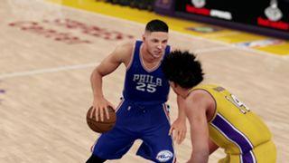 NBA 2K16 Brandon Ingram Ben Simmons
