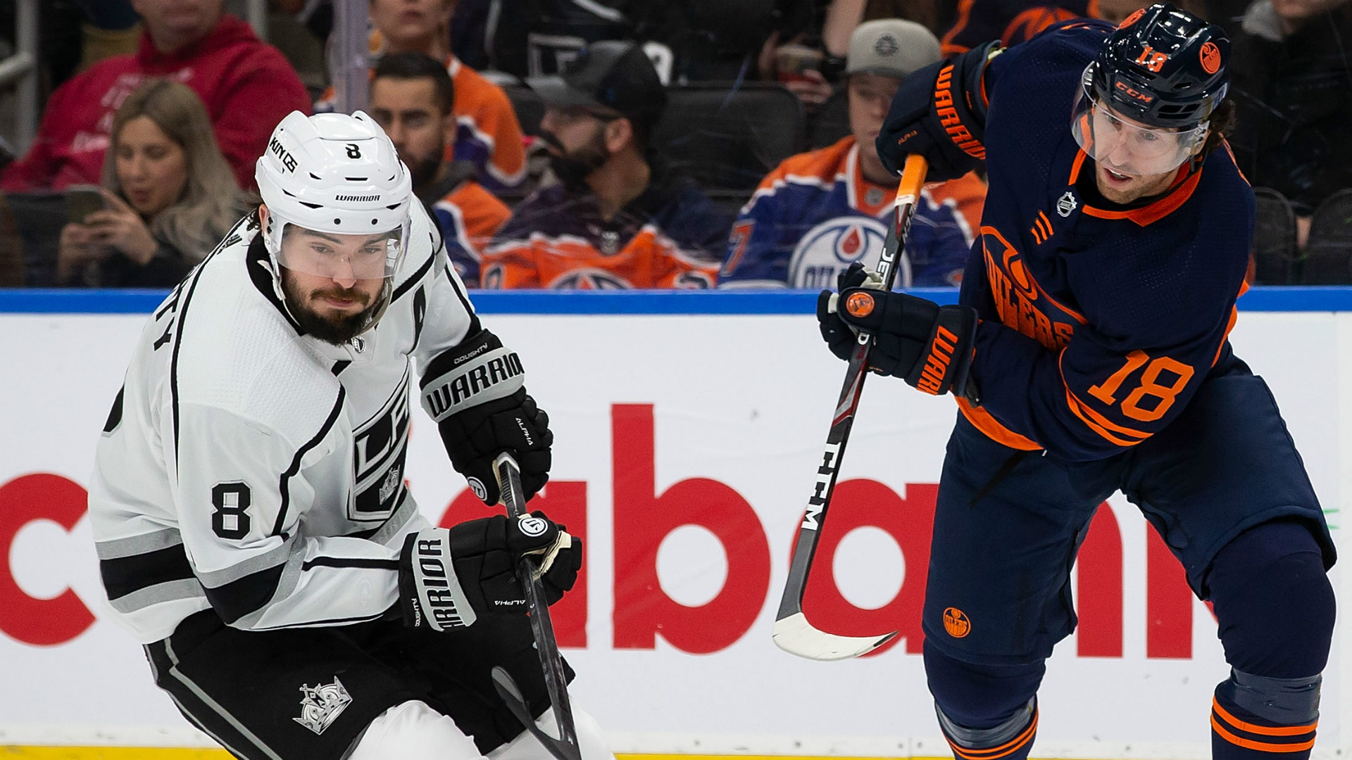 Drew Doughty has period to forget in Los Angeles Kings' loss to Edmonton Oilers
