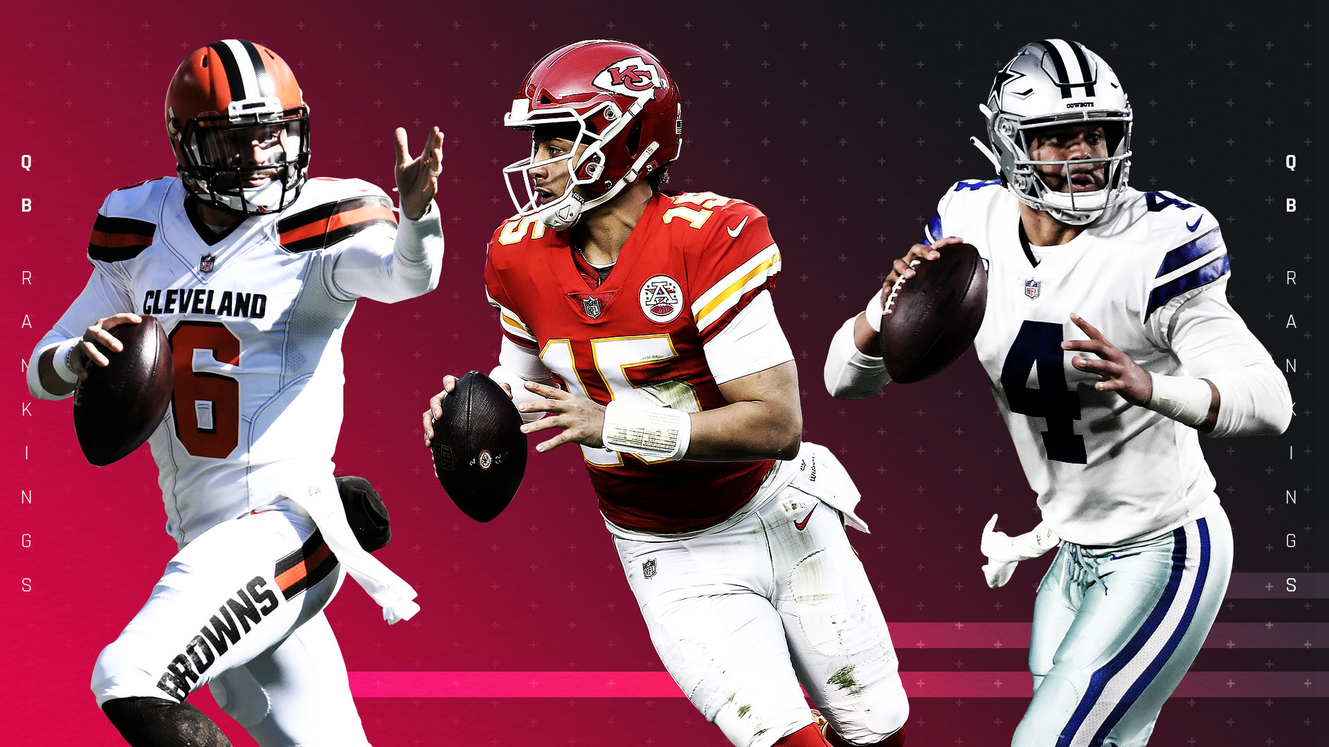 Best Qb Fantasy 2020.Nfl Quarterback Rankings For 2019 Best To Worst 1 32