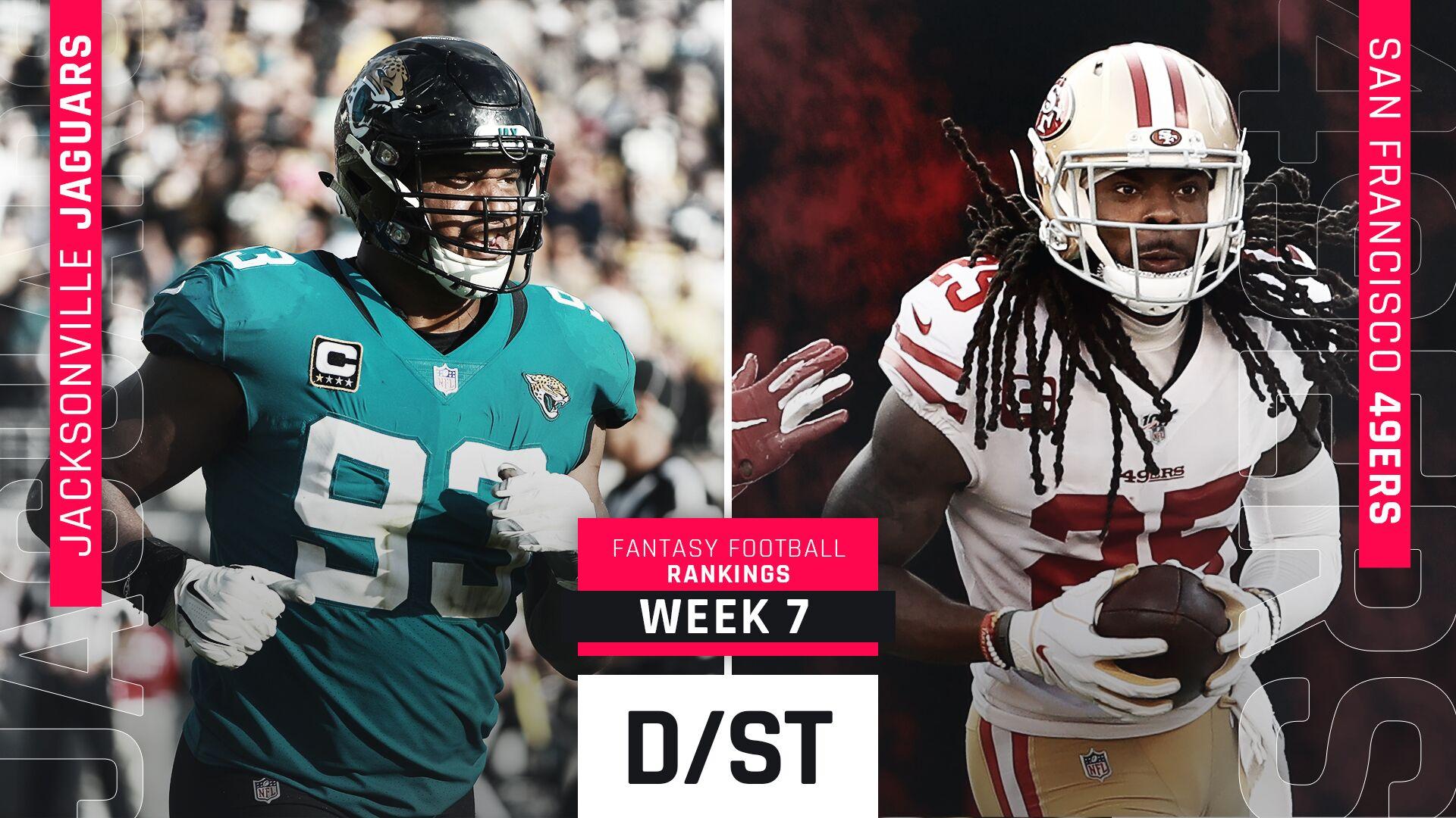 Week 7 Fantasy Rankings Defense Sporting News