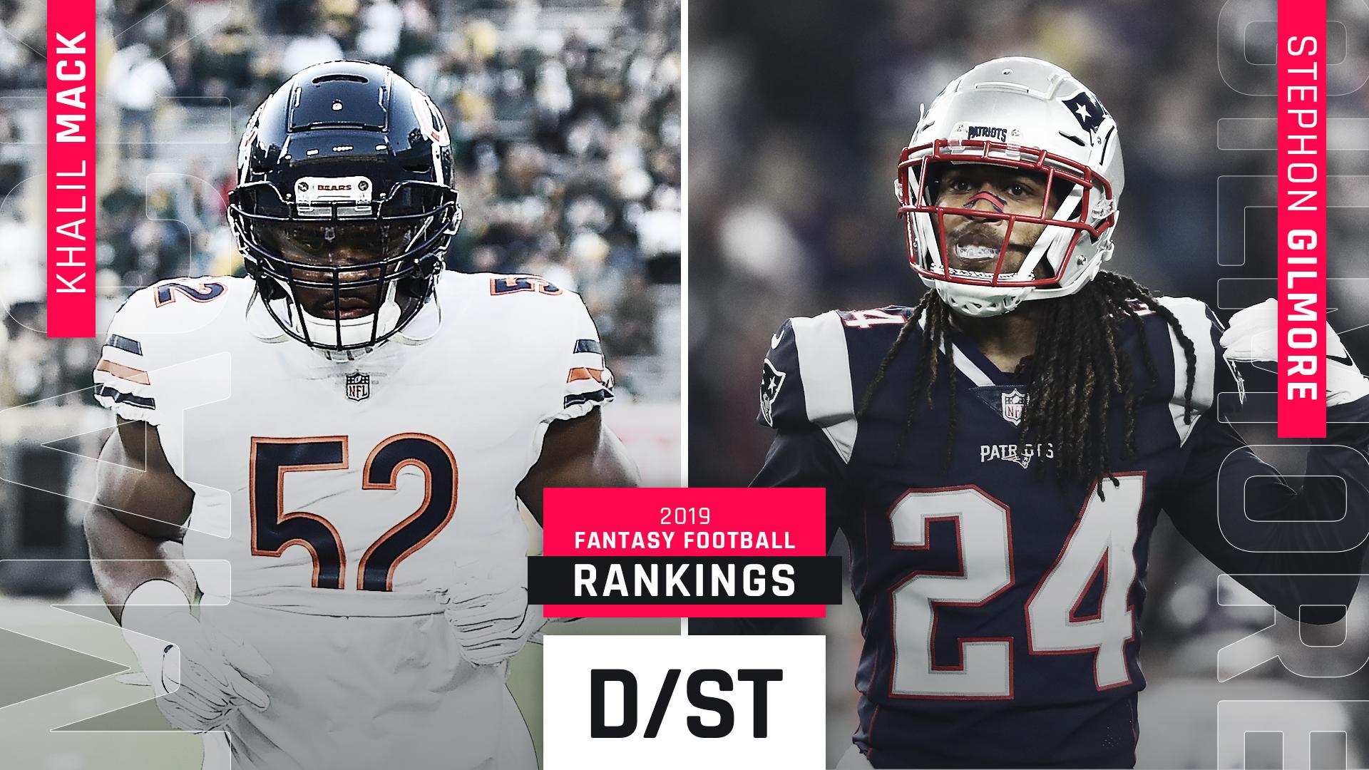 2019 Fantasy Football Rankings Defense Sporting News