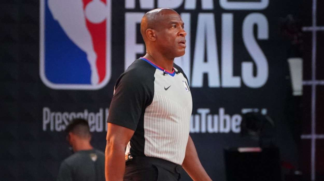 NBA referee Tony Brown