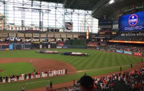 The Astros' return to Houston after Harvey