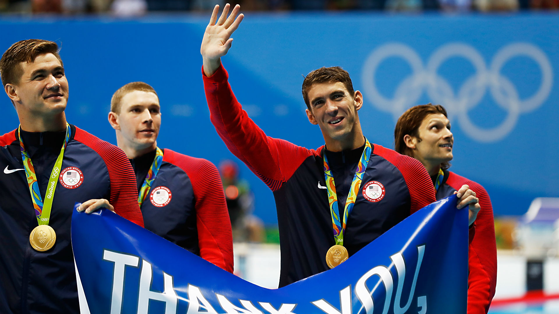 Is Michael Phelps at the Olympics?  The Tokyo Games are the first without a record swimmer since 1996