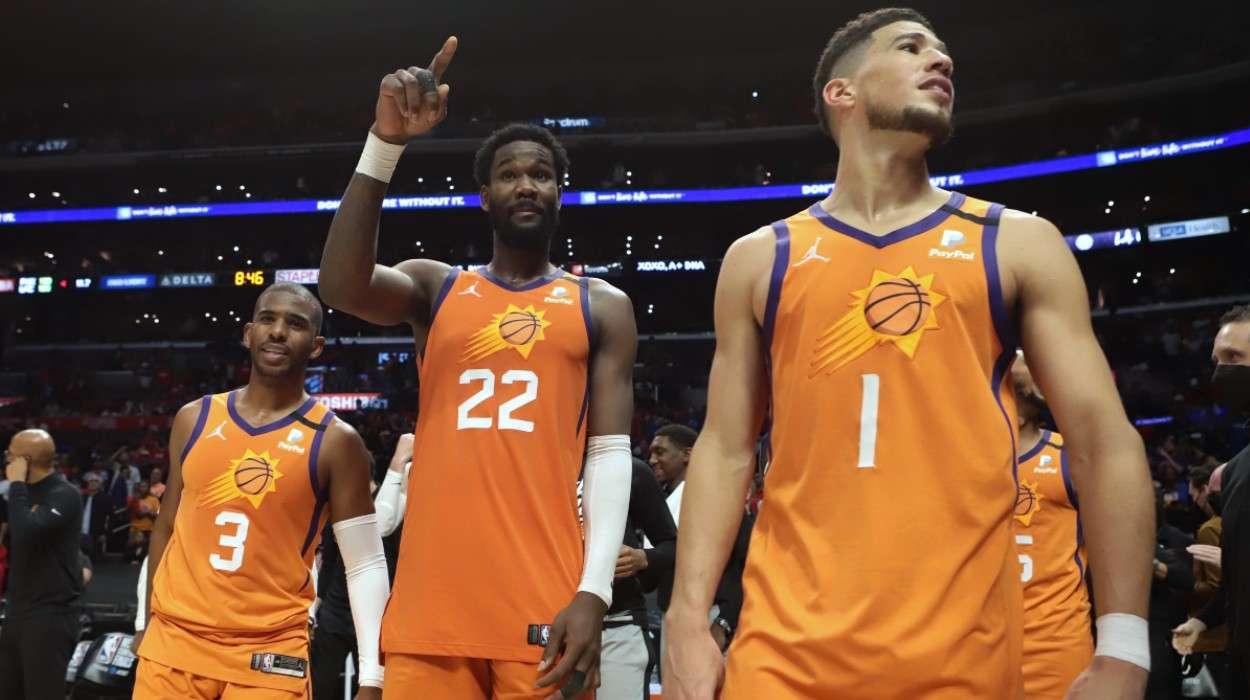 Chris Paul Deandre Ayton Devin Booker Phoenix Suns