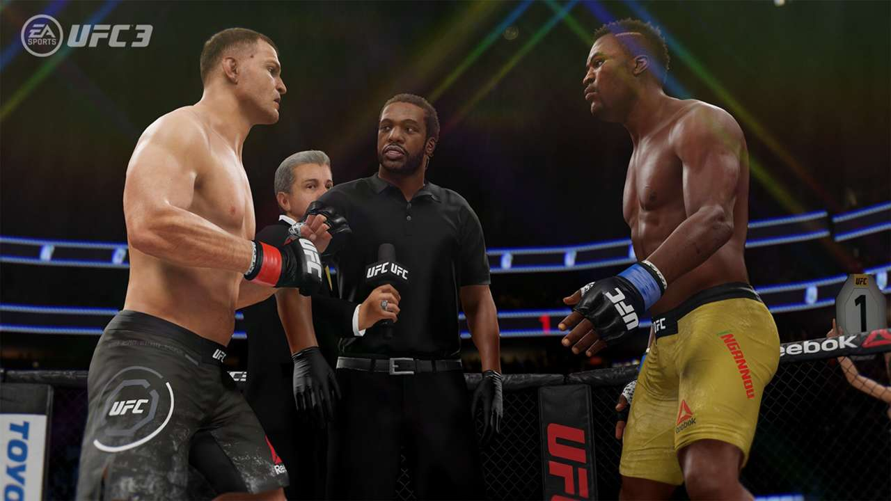 EA Sports UFC 3 Stipe Miocic Francis Ngannou