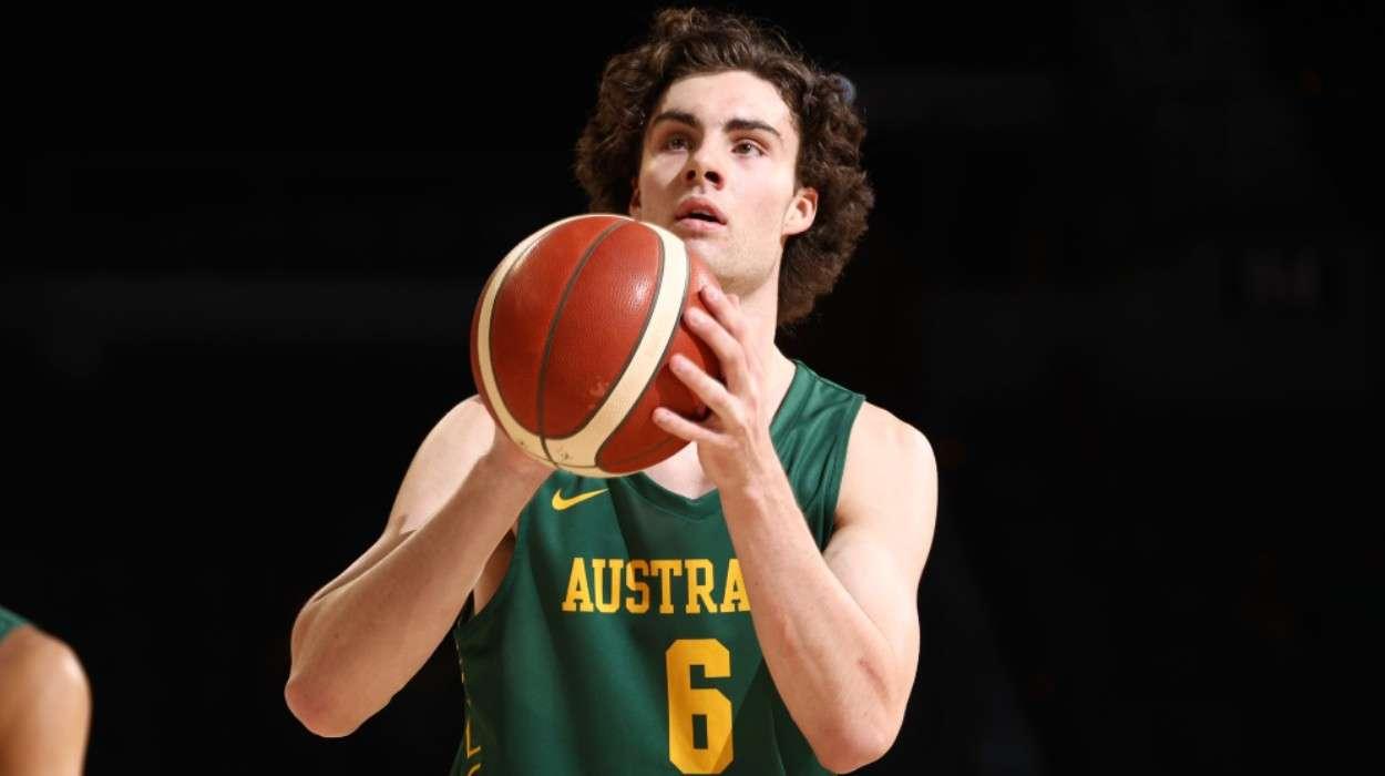 Josh Giddey Australia Men's National Team