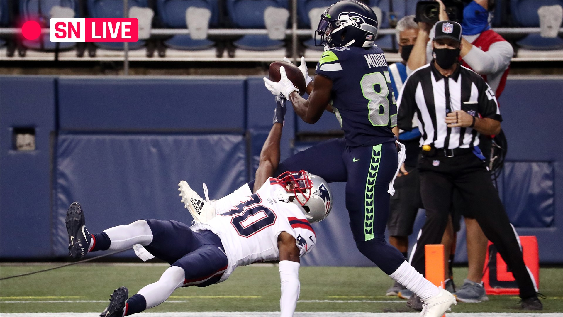 Patriots vs. Seahawks live score, updates, highlights from NFL 'Sunday Night Football' game