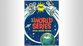1965 World Series program