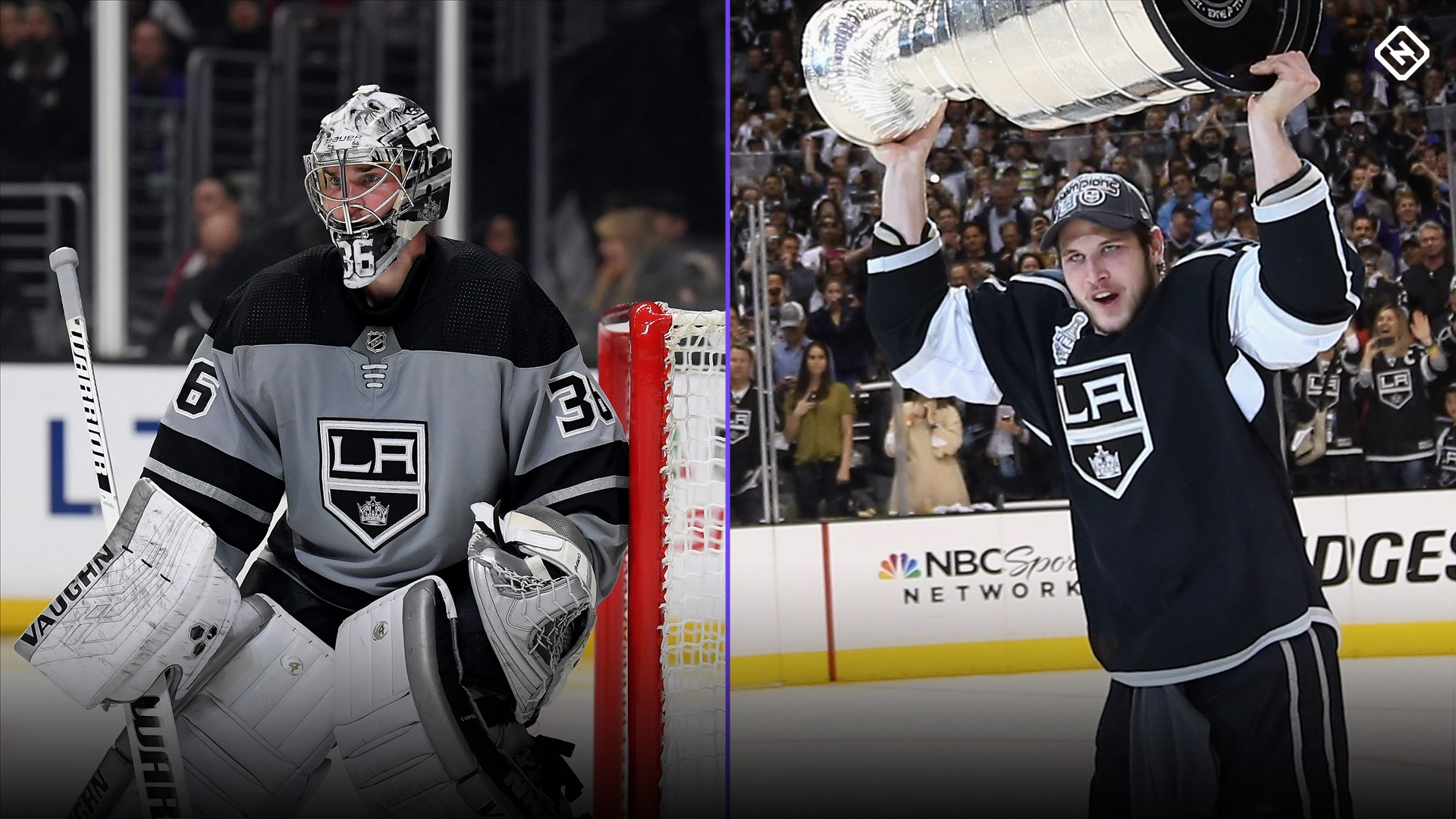 Toronto Maple Leafs Trade Grade Much Needed Goaltending Grit Come Over From Los Angeles Kings Sporting News Canada