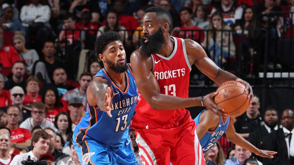 Thunder vs Rockets