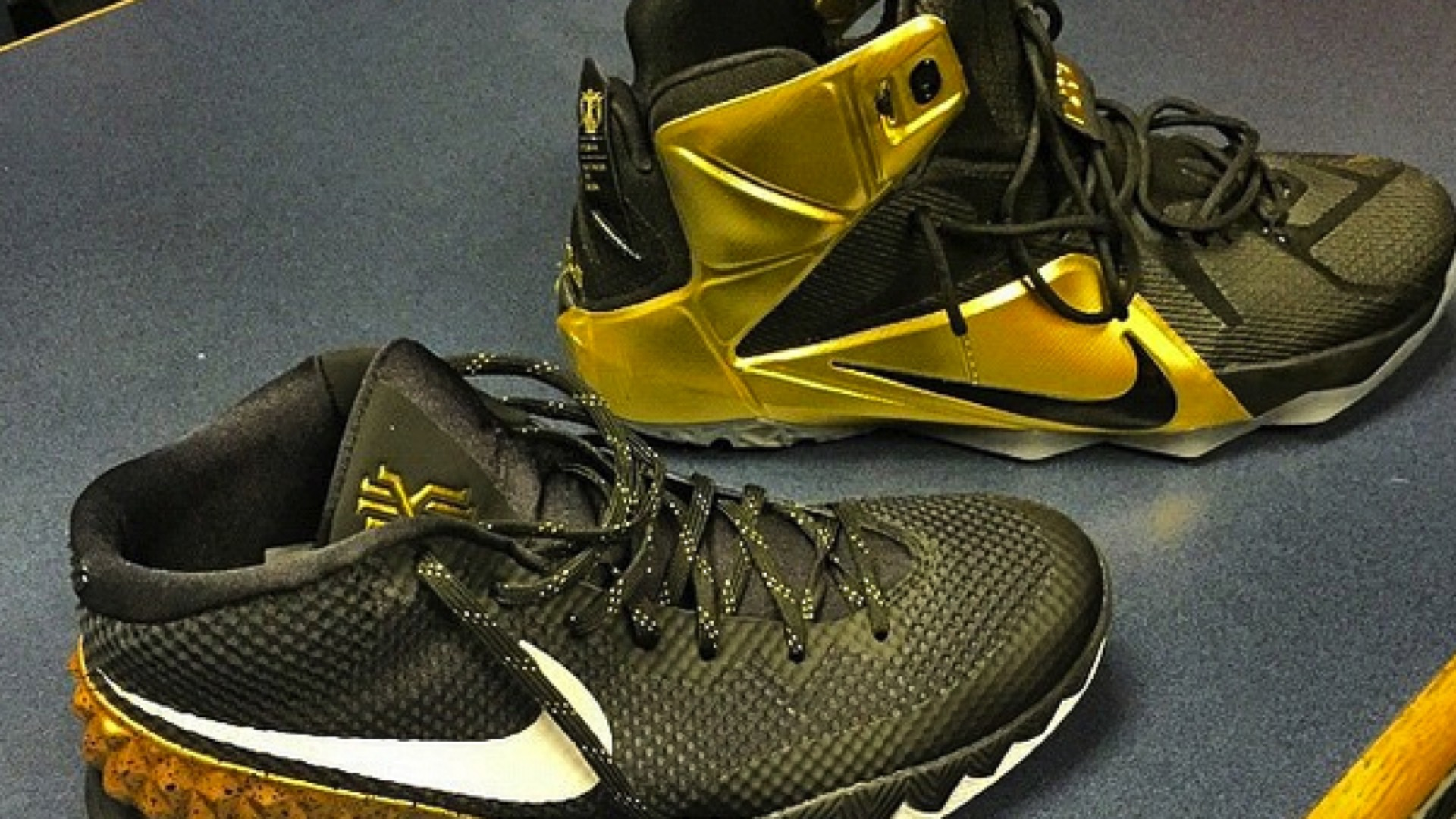 Kyrie Irving get Grammy-themed shoes