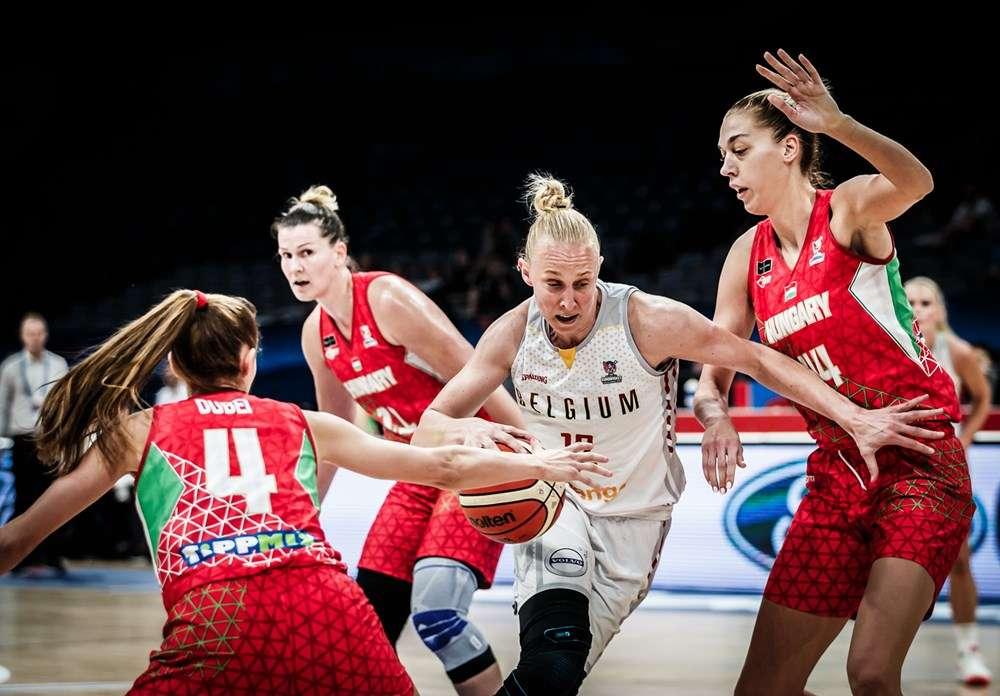 Ann Wauters Belgium FIBA