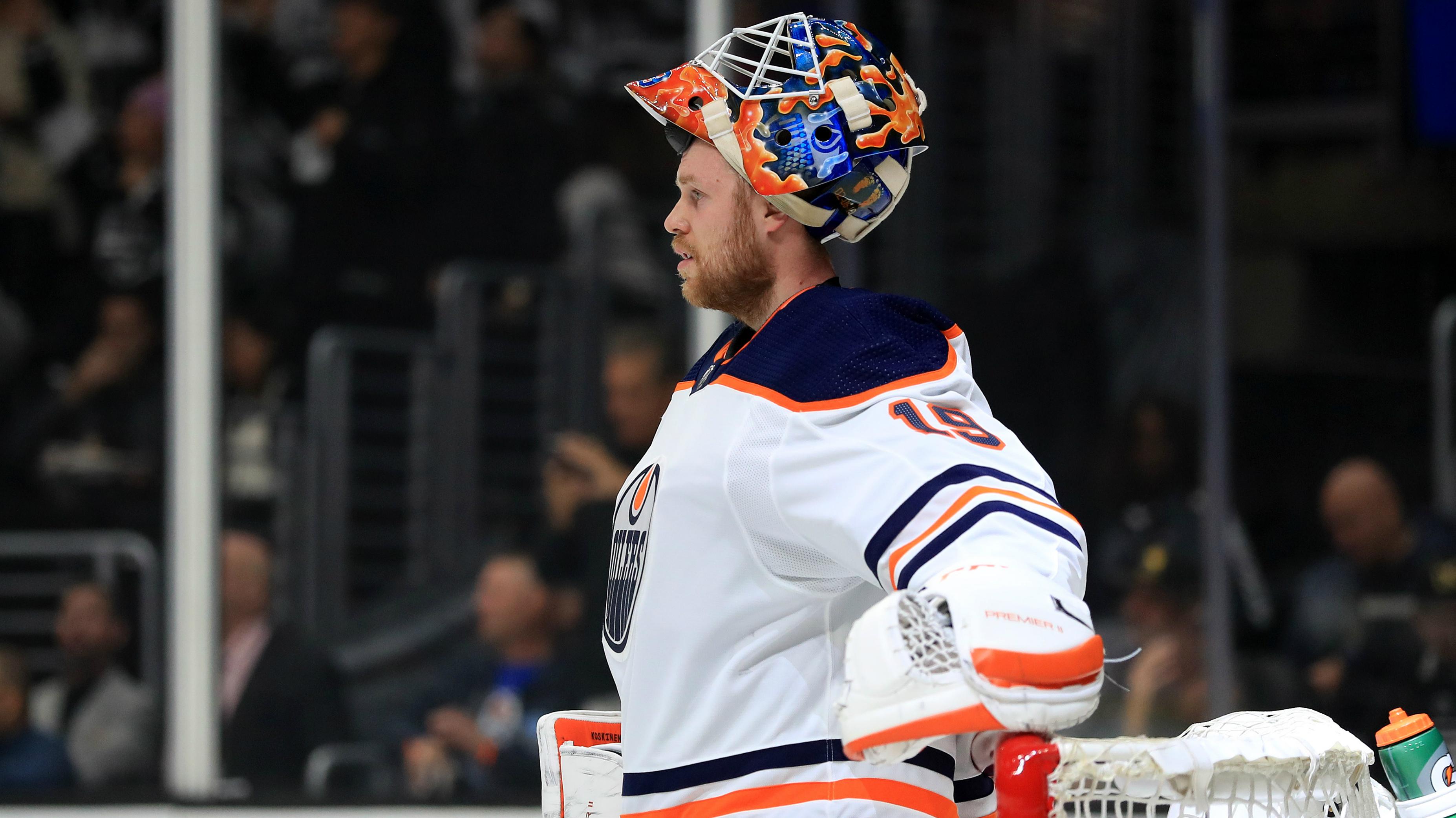 Edmonton Oilers' Mikko Koskinen has established himself as a starting goaltender — and silenced his critics