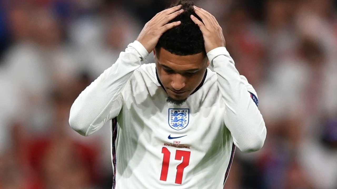 Jadon Sancho - England - Euro 2021 final