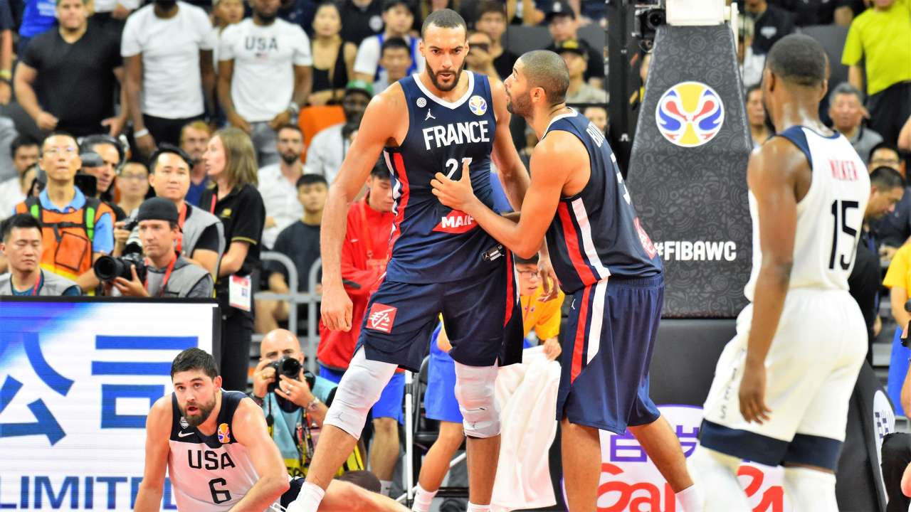 Rudy Gobert France FIBA World Cup