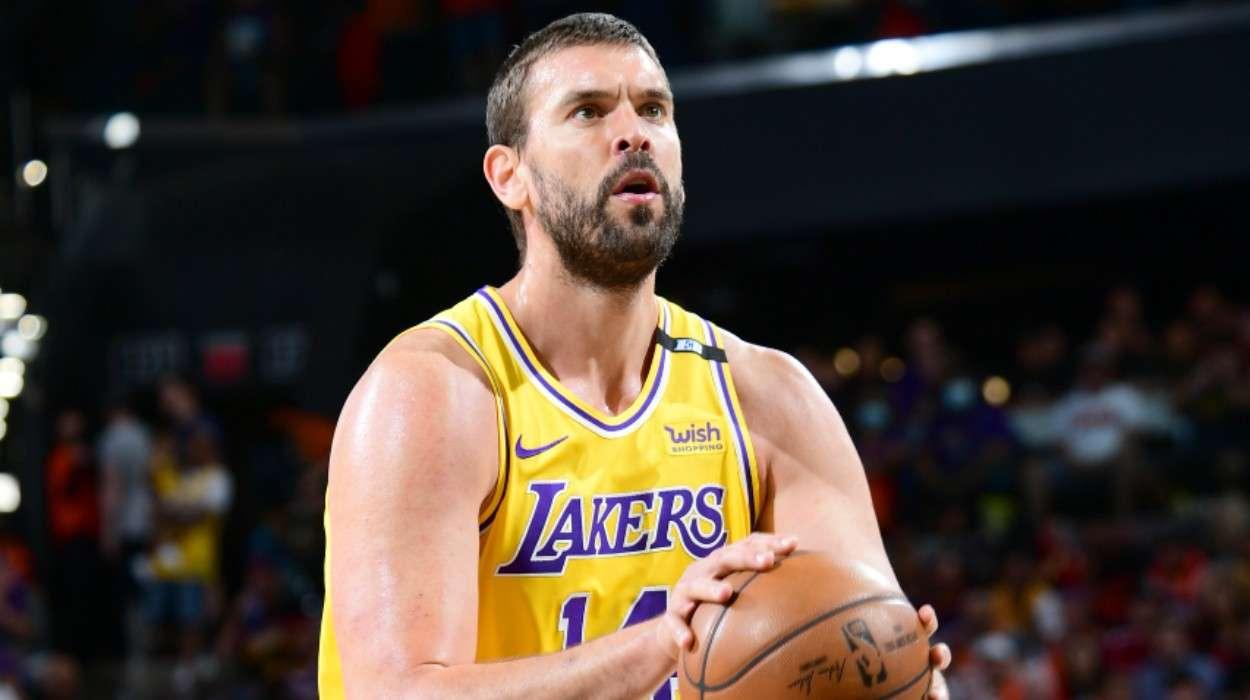 Marc Gasol Los Angeles Lakers