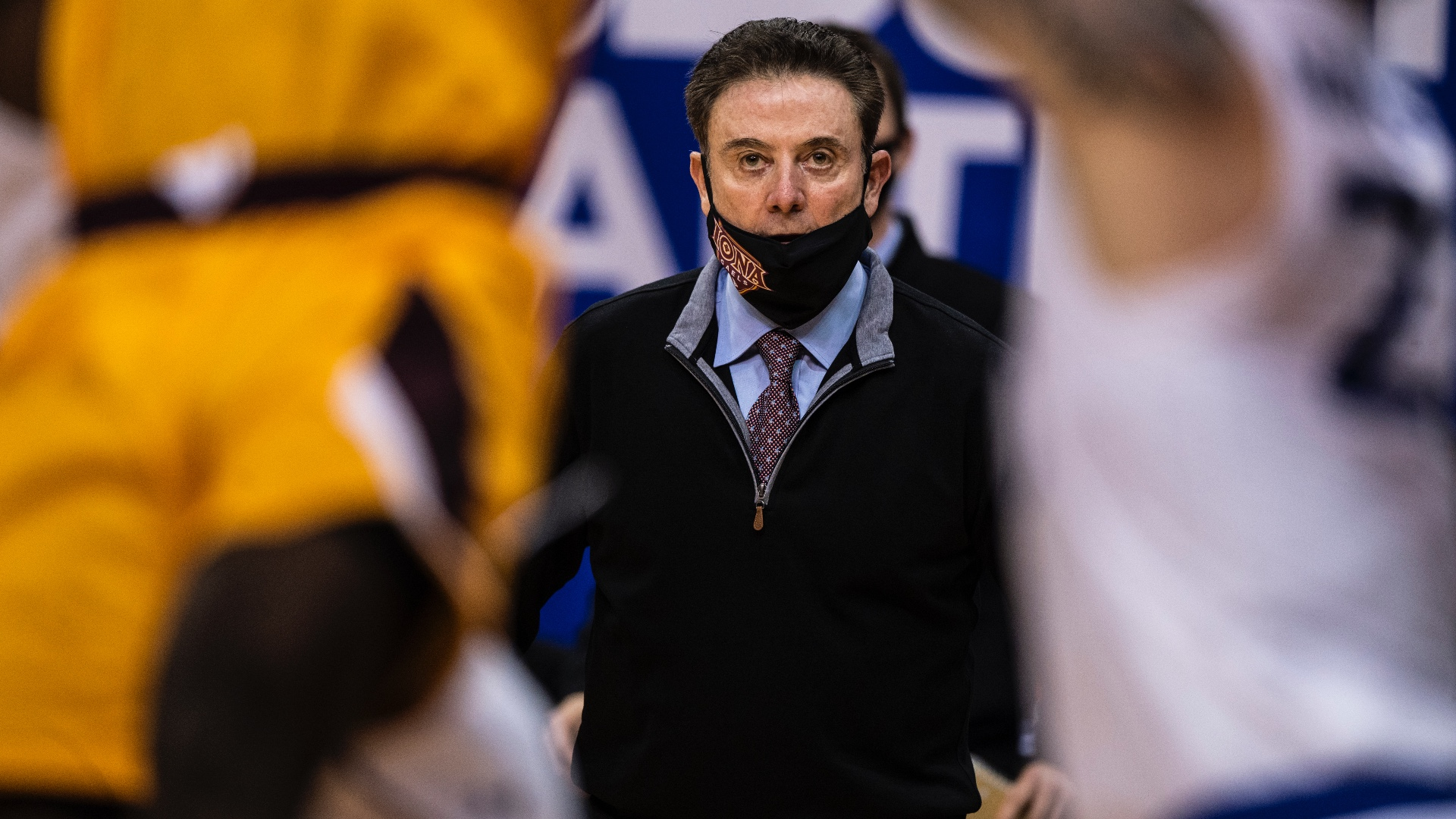 """Rick Pitino prefers Iona to any opening: """"Here I am, God will bless me with my ability to train."""""""