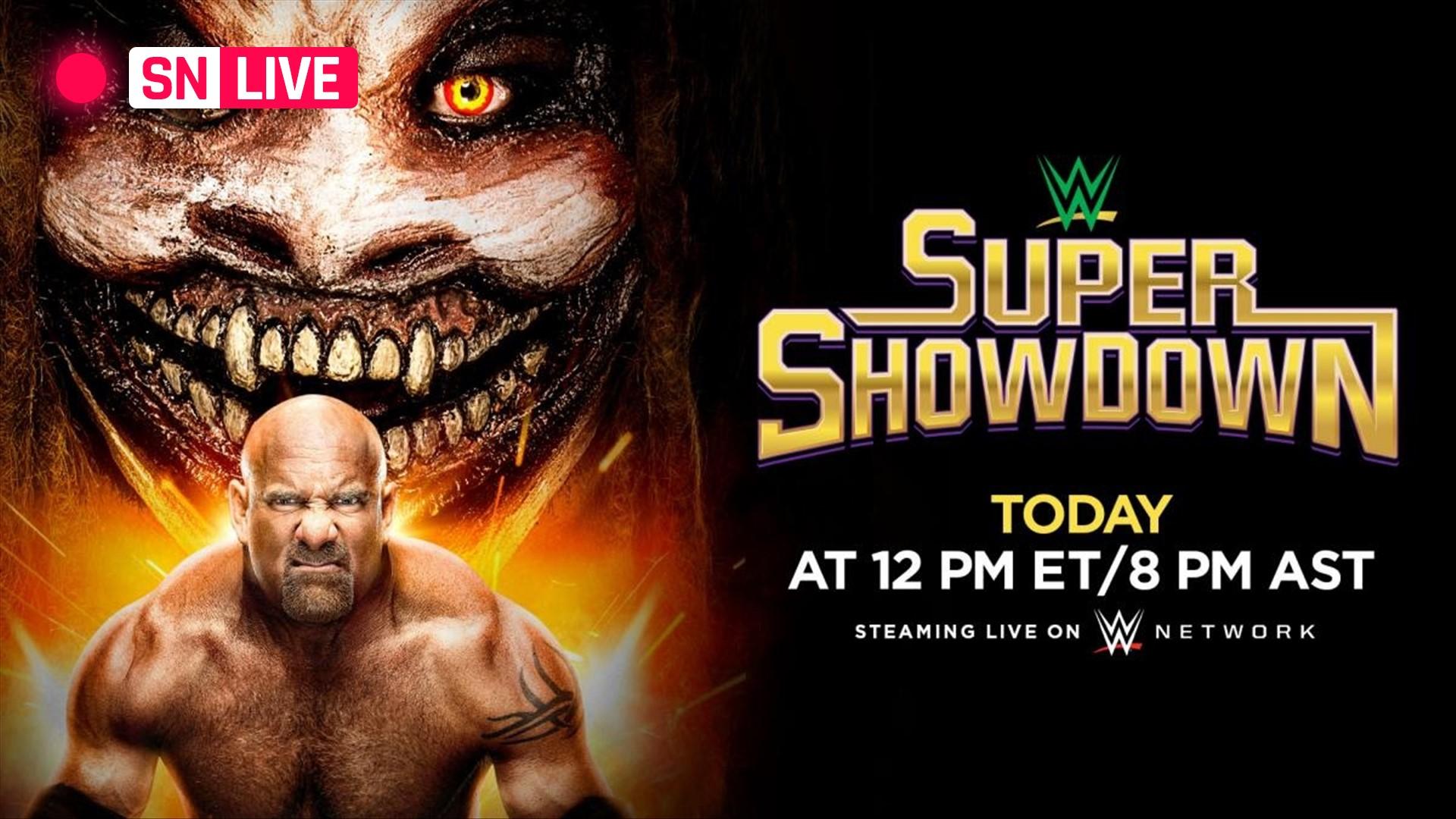Resultados en vivo de WWE Super Showdown, actualizaciones, aspectos destacados de todo el show 15
