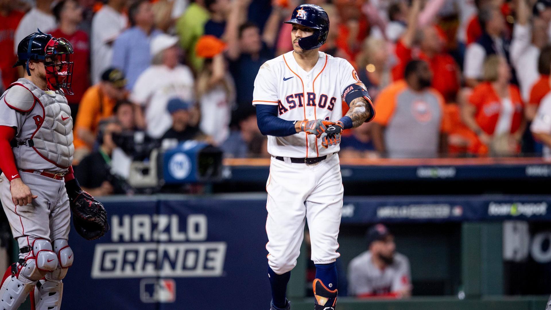 Astros-Red Sox ALCS Game 1 takeaways: Kike' Hernandez keeps rolling, Houston's middle infield stays clutch