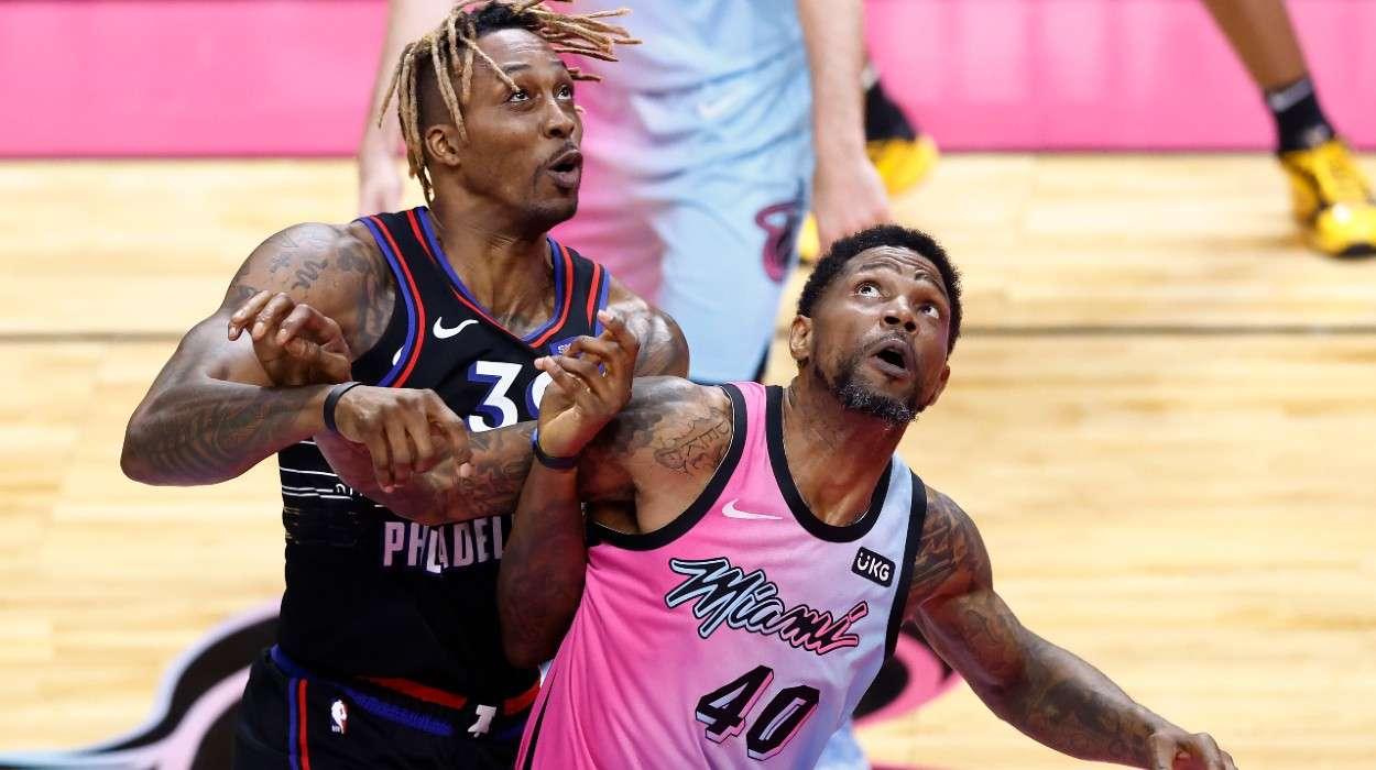 Udonis Haslem Miami Heat Dwight Howard Philadelphia 76ers