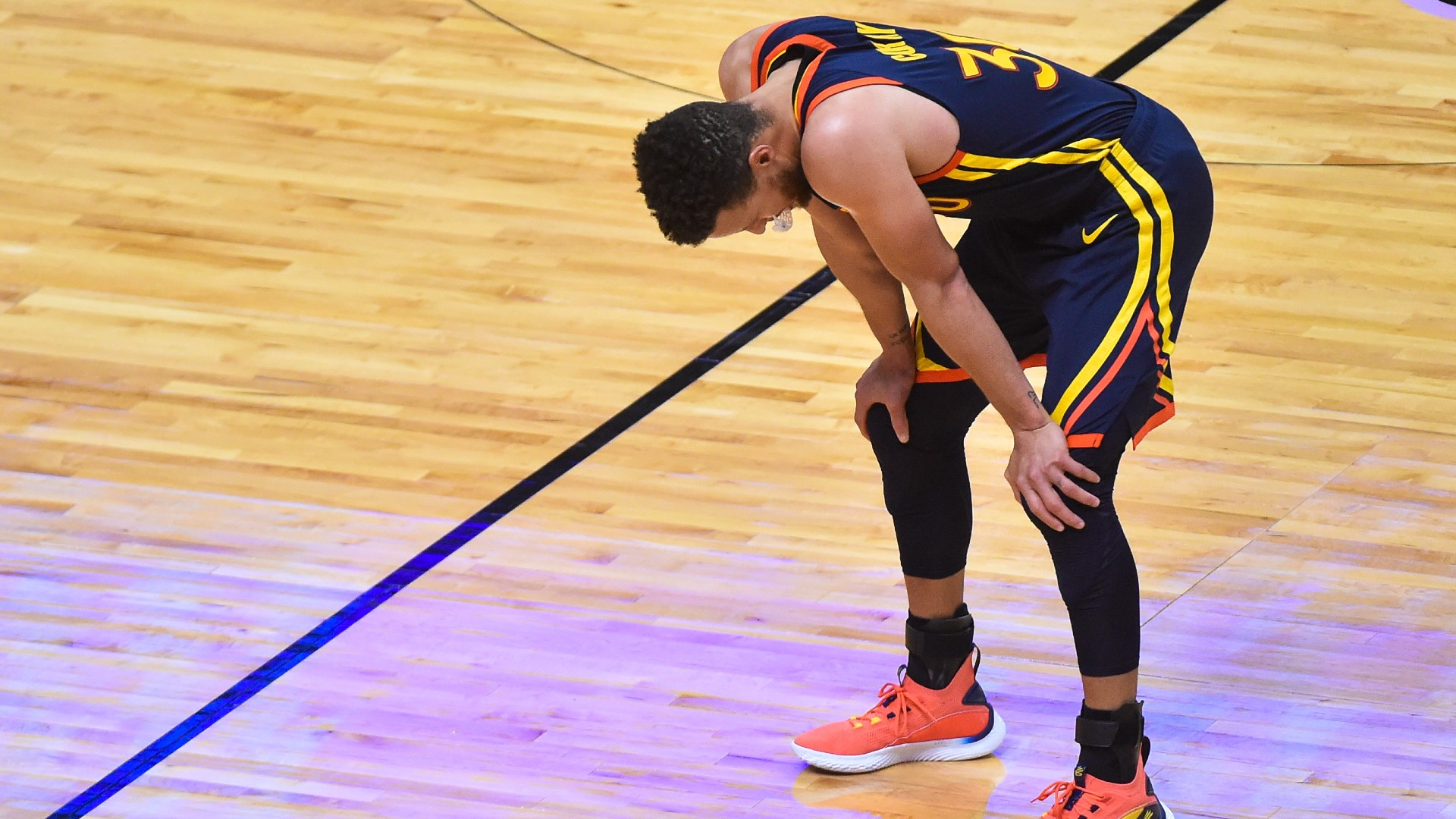 Stephen Curry's frustration grows as warriors continue to fall in the Western Conference rankings