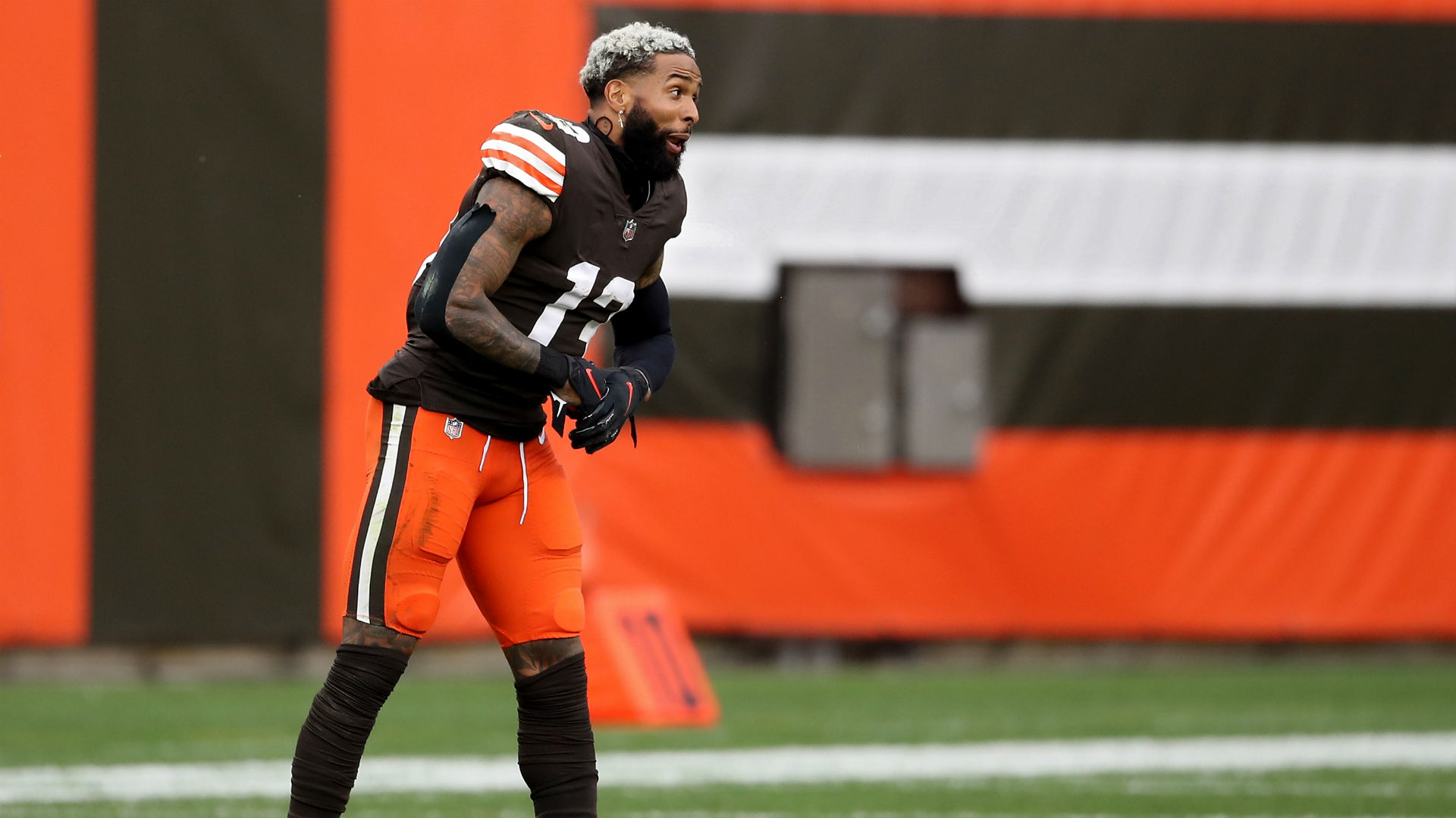 Browns' Odell Beckham Jr. isn't worried about getting COVID-19 because of 'a mutual respect'