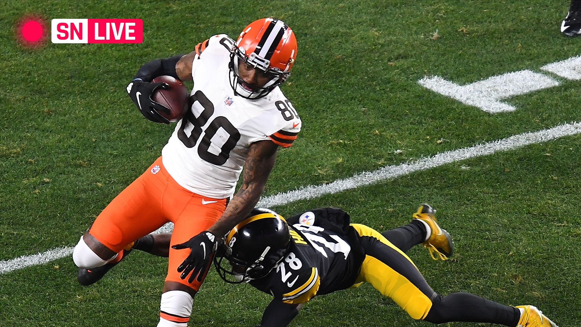 Steelers vs. Browns live score, updates, highlights from NFL wild-card playoff game