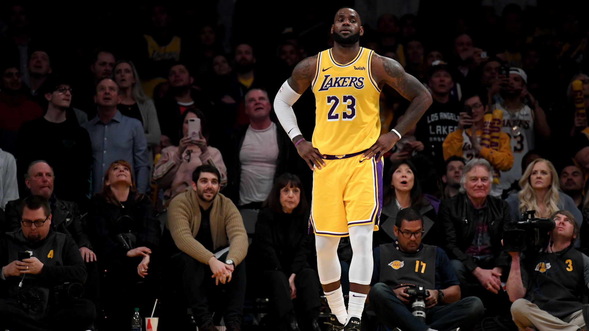 LeBron James, Lakers have one
