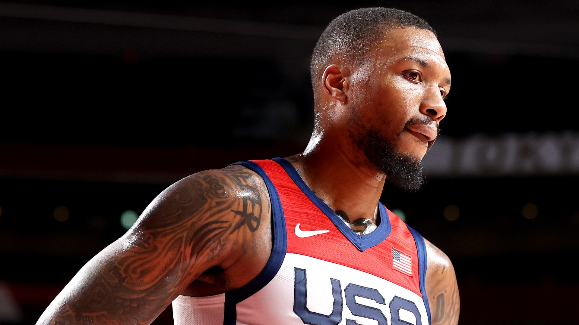 Damian Lillard had to step back so that Team USA could move forward in the pursuit of the Olympic gold medal.