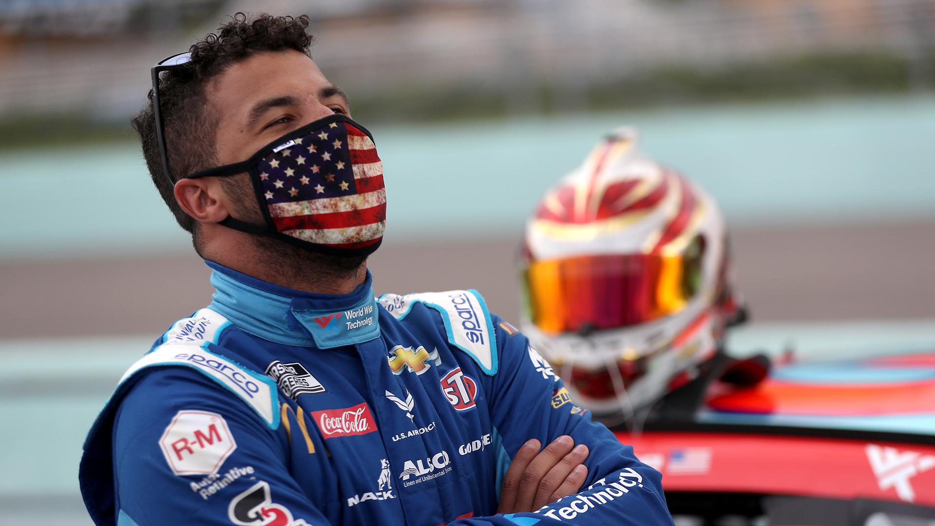 Mike Skinner's son said Bubba Wallace should've been dragged 'around the pits' with noose