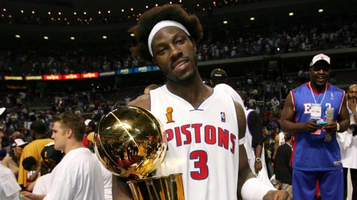 Ben Wallace Detroit Pistons