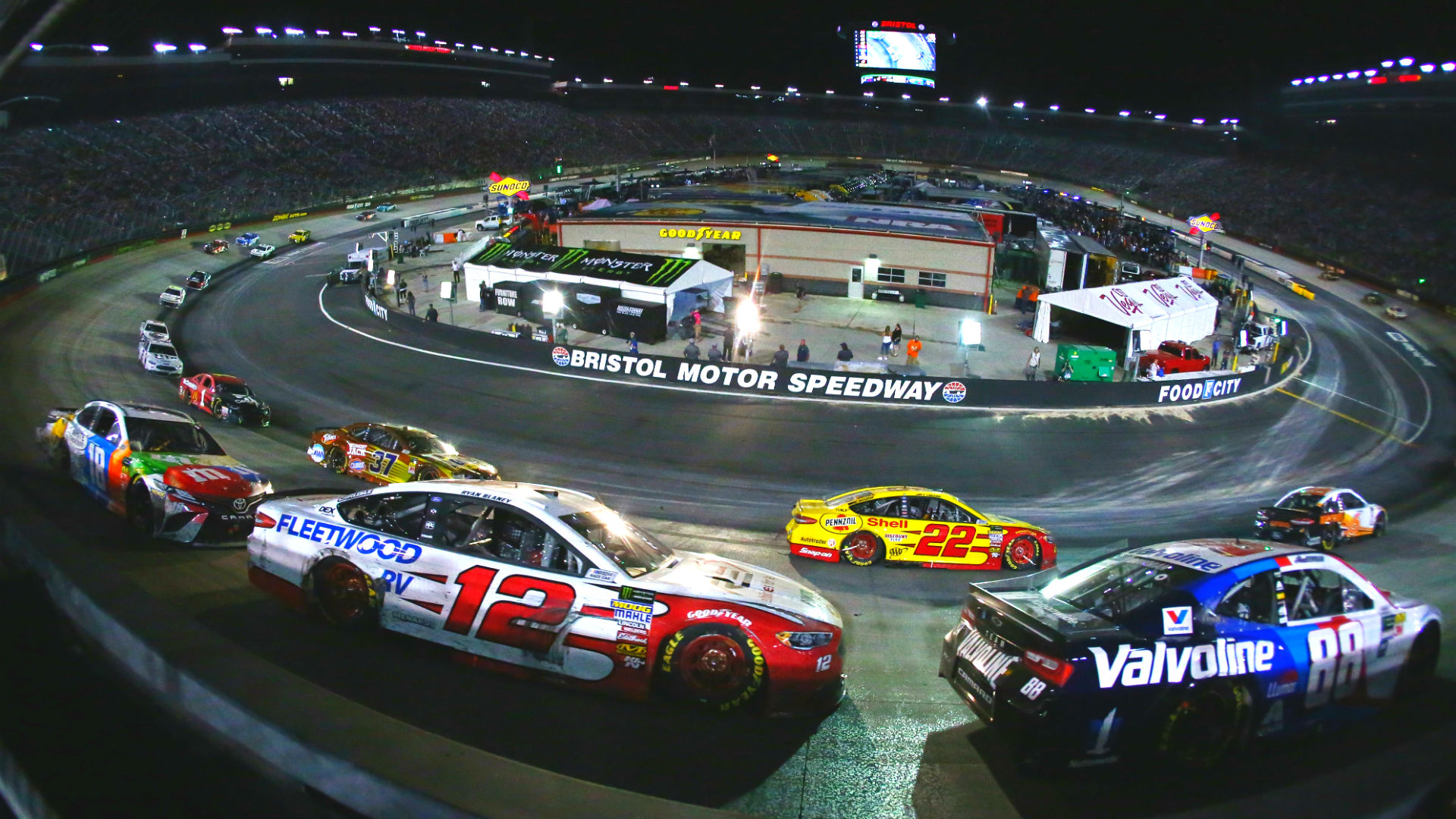 NASCAR will finally use a choose cone rule in the Cup Series, report says