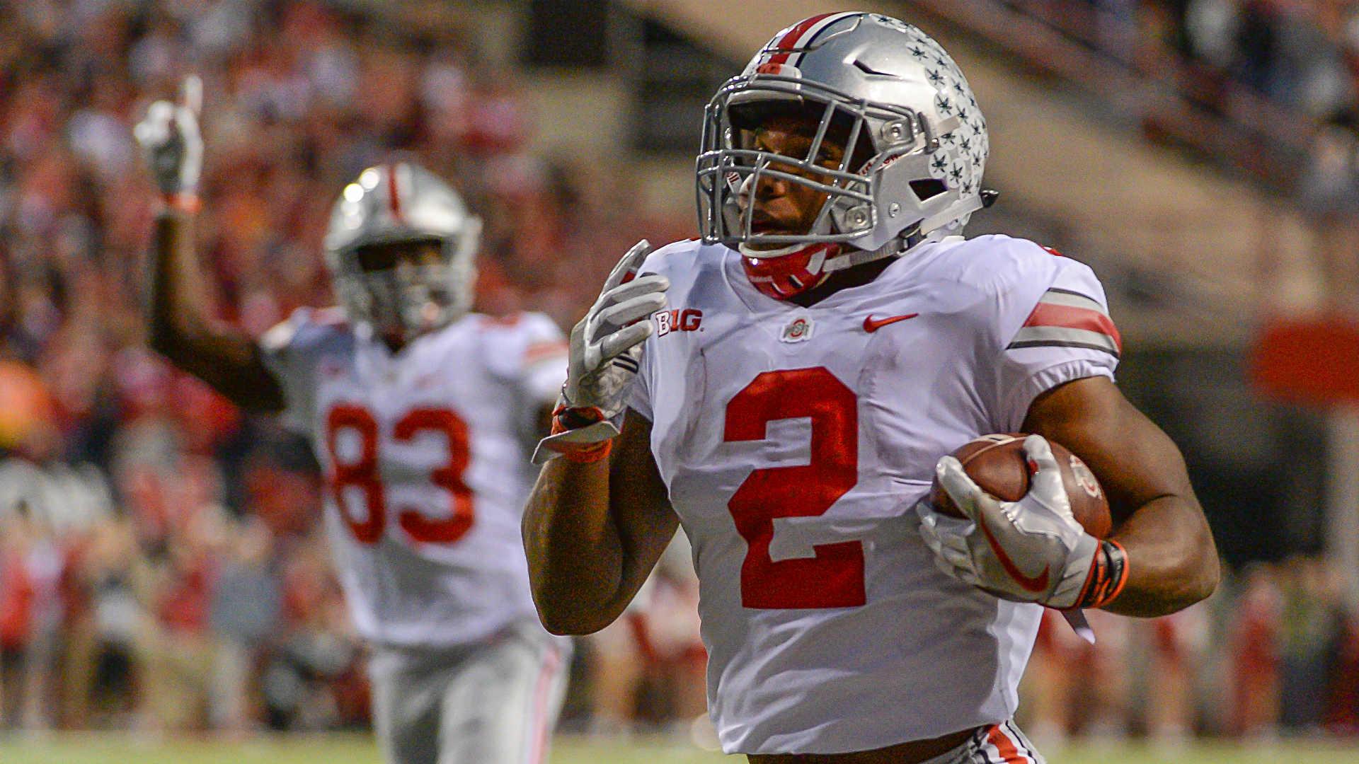 J K Dobbins Ohio State S Throwback Running Back Of The