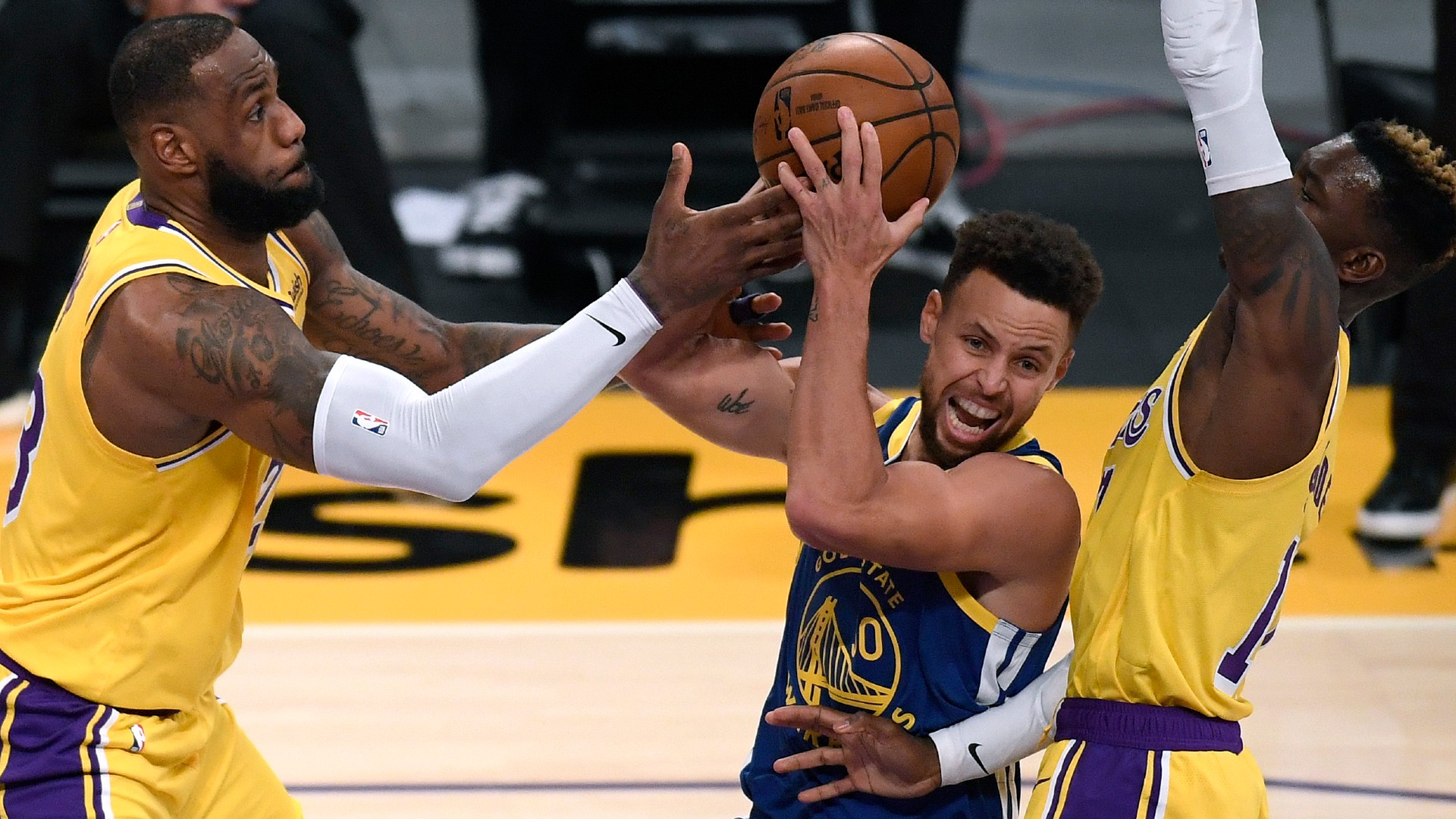 What channel is Lakers vs. Warriors on today? TV schedule, start time for NBA play-in tournament