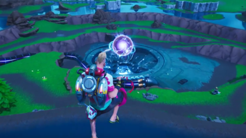 Robot Events Fortnite Fortnite Event Watch What Happened During The Monster Vs Robot Fight Sporting News