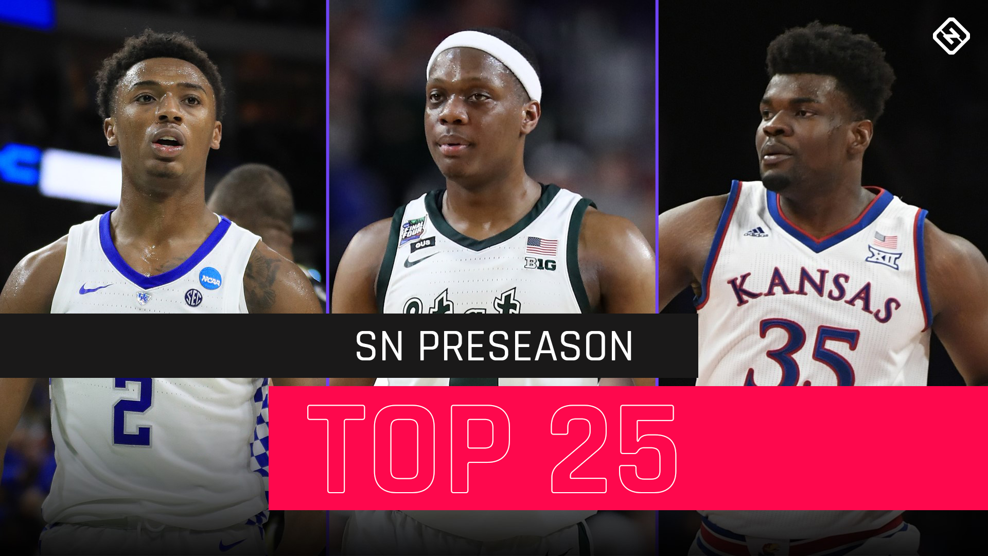 College Basketball Rankings Sn S Updated Preseason Top 25