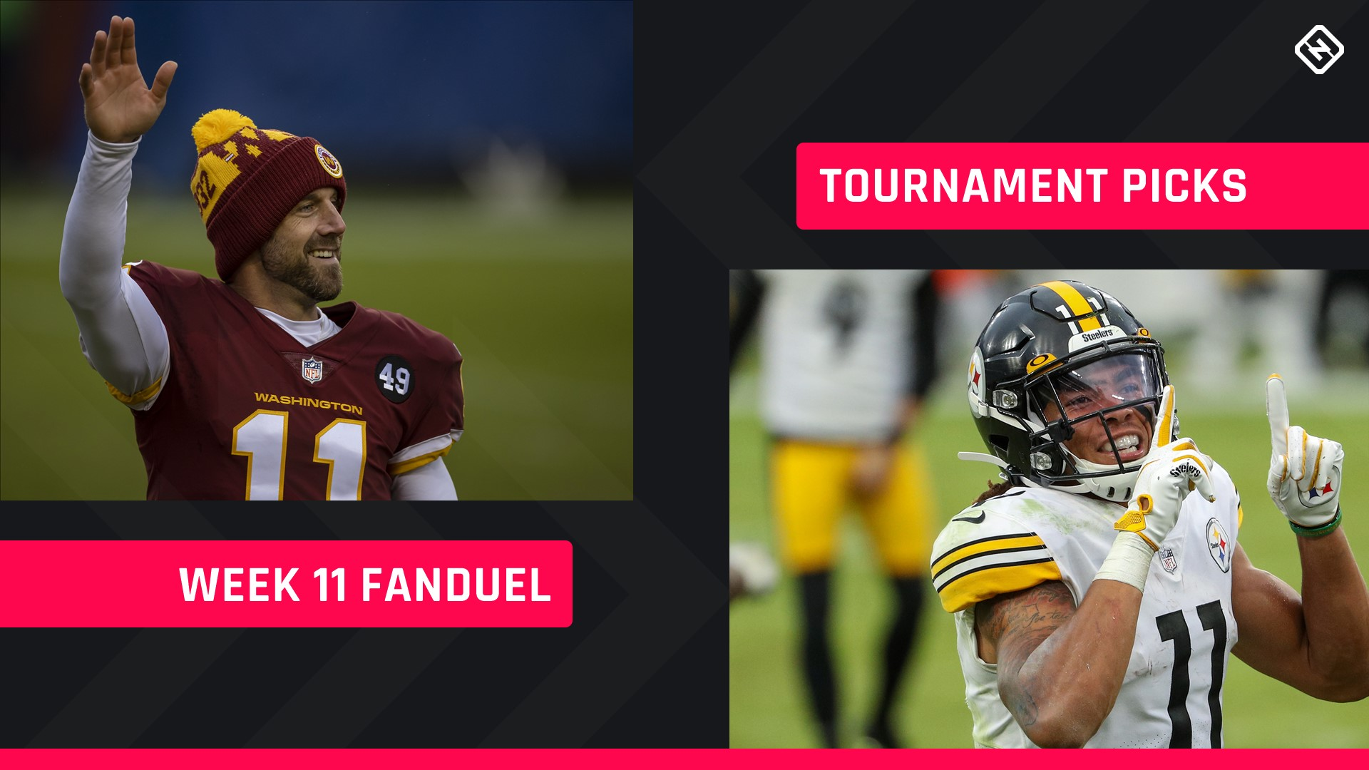 Week 11 FanDuel Picks: NFL DFS lineup advice for daily fantasy football GPP tournaments thumbnail