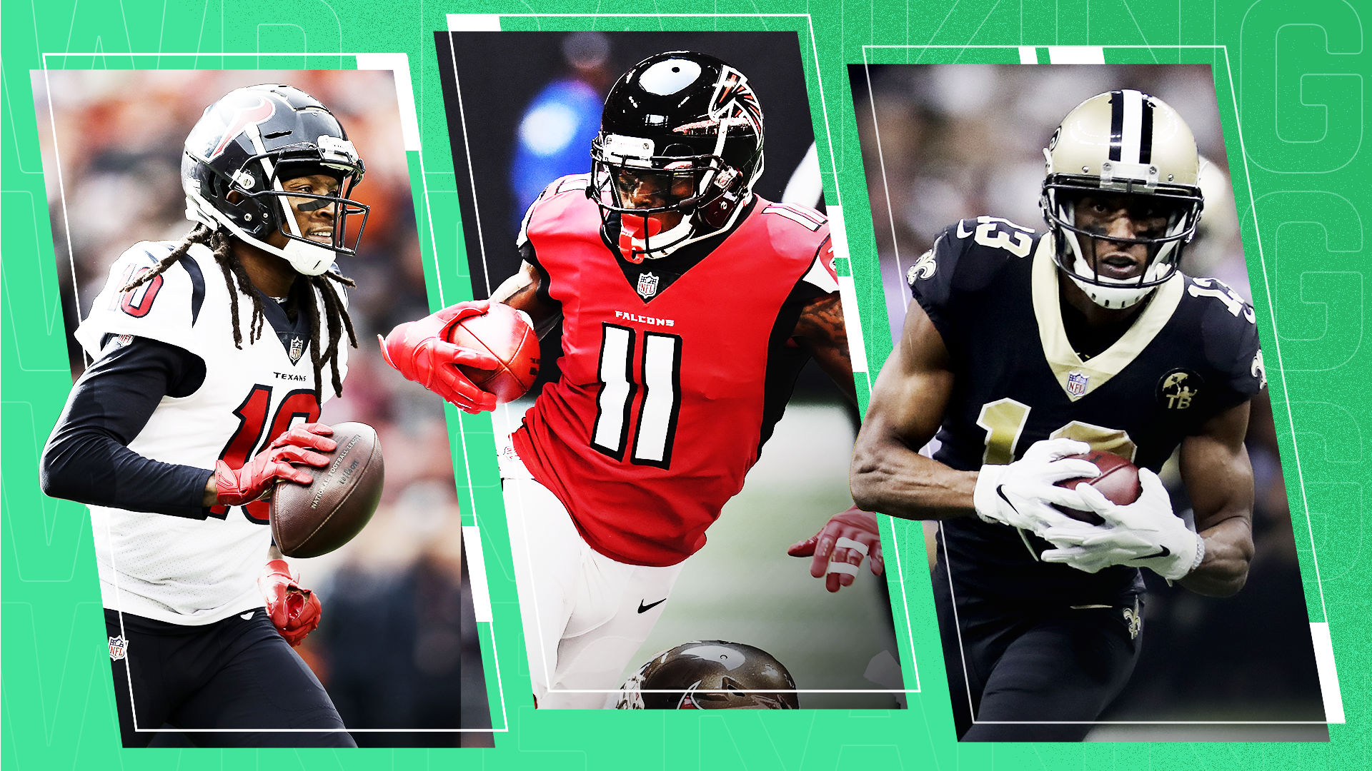 Best Receivers 2020.Ranking The Nfl S Top 25 Wide Receivers For 2019 Sporting News