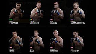 EA Sports UFC 2 Lightweights