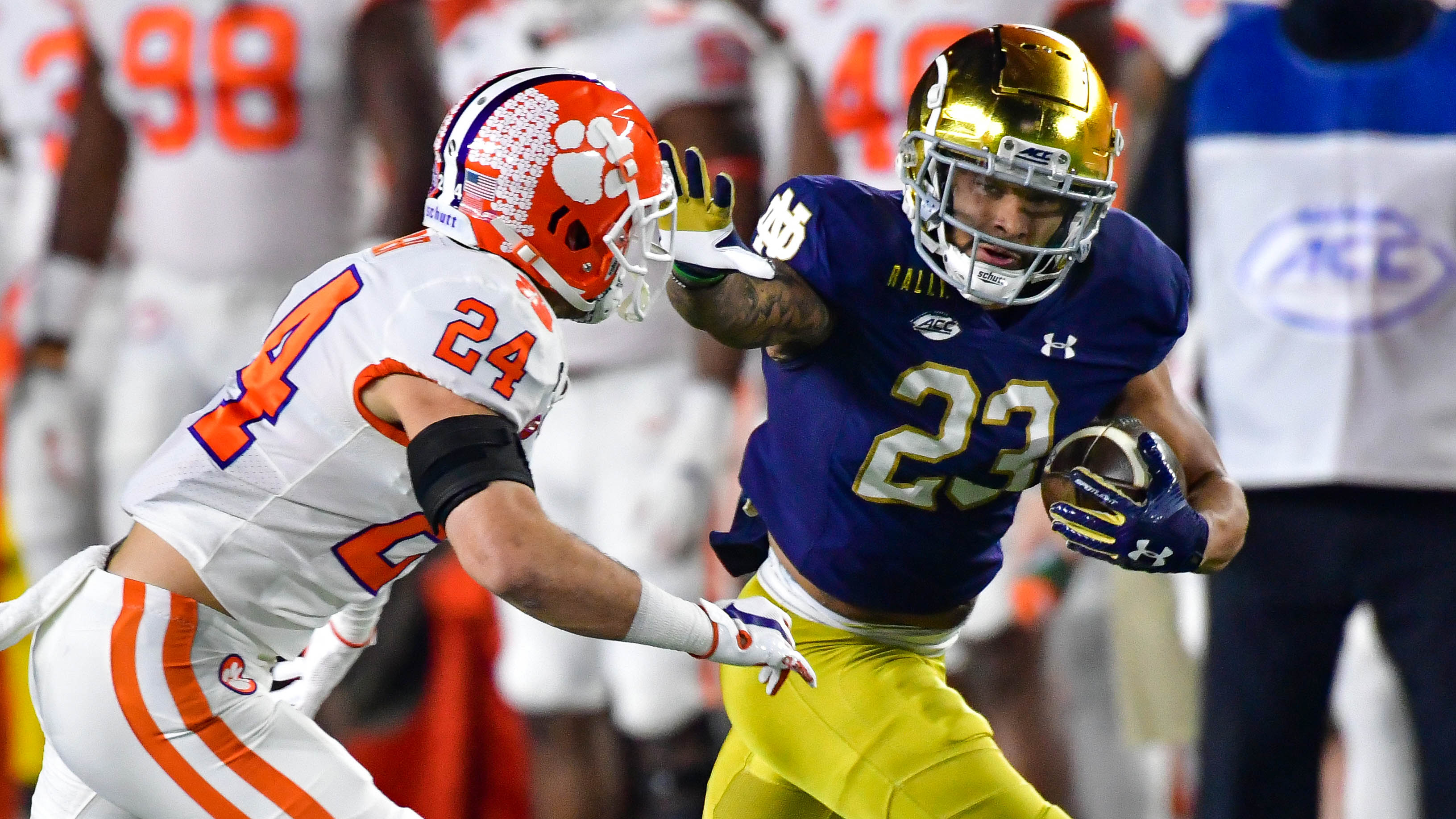 Notre Dame Vs Clemson Final Score Irish Upset No 1 Tigers In Fantastic Game Of The Year Sporting News