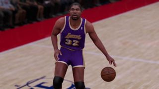 NBA 2K16 1986-87 Los Angeles Lakers Magic Johnson