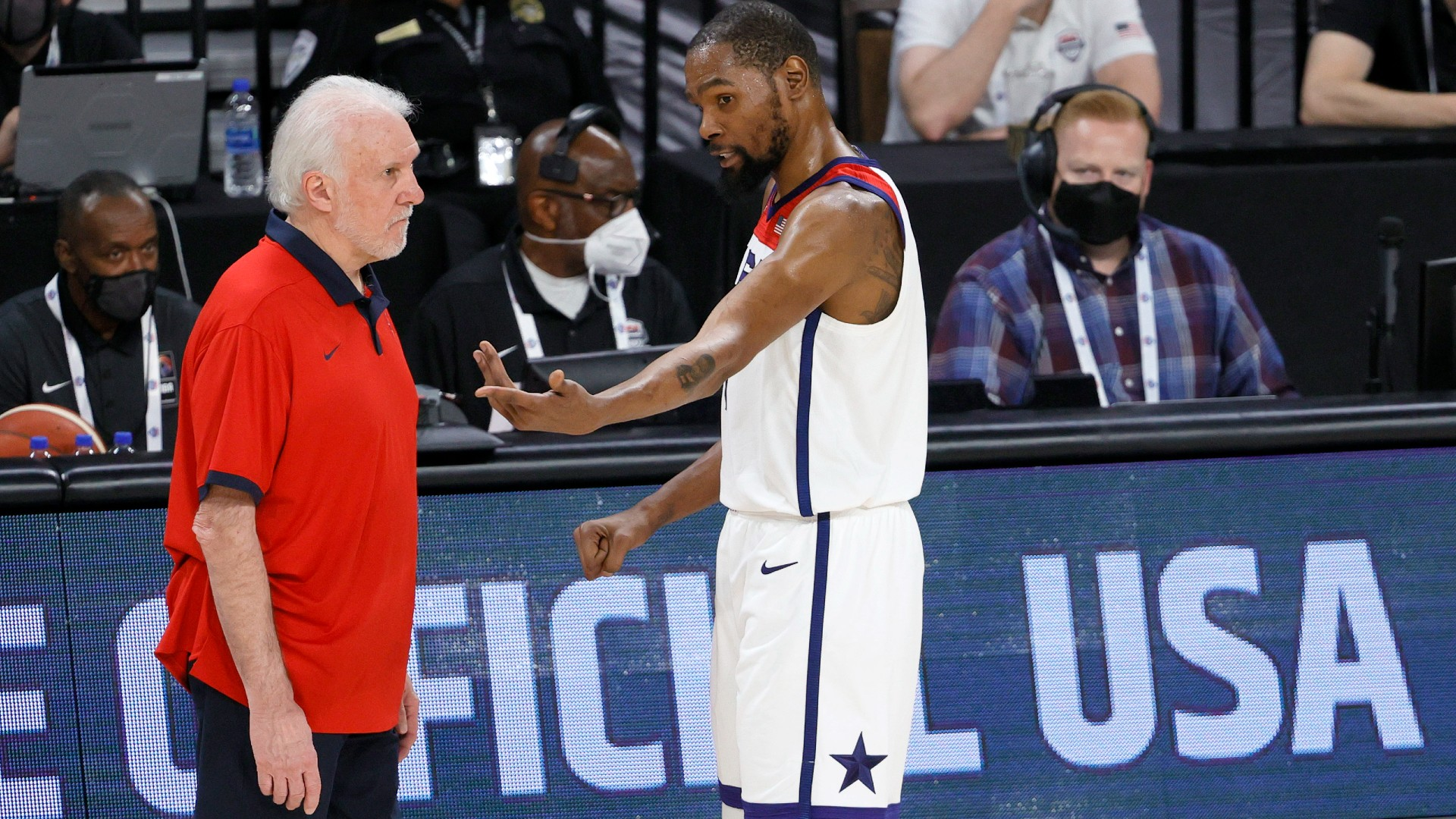 USA vs. Argentina live score, updates, highlights from 2021 Olympic men's basketball exhibition game thumbnail